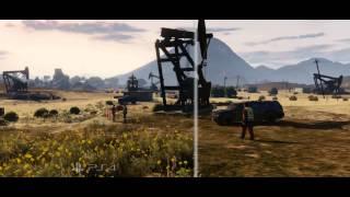 GTA 5 Официальный трейлер сравнения PS4 vs PS3