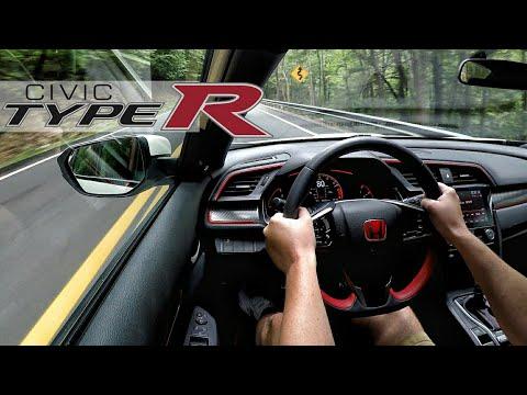 2017 Honda Civic Type R Mountain Drive / Run + 0-60 Acceleration Clips | Suck Creek TN