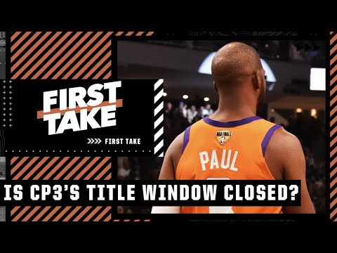 Stephen A. thinks Chris Paul's championship window is officially closed | First Take