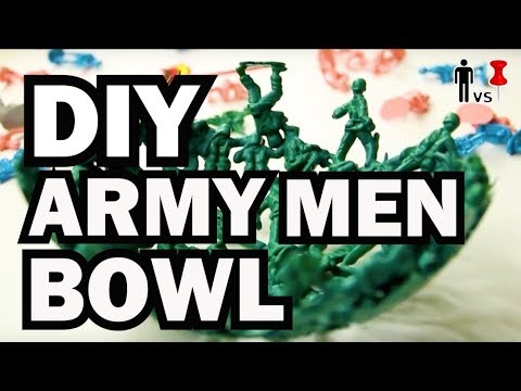 DIY Plastic Army Men Bowl - The Return of PINOMETER - Man Vs Pin