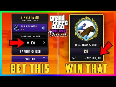 gta-v-best-solo-unlimited-chip-glitch!!-horse-track-(no-requirements)(ps4/xbox)