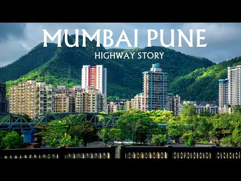 Mumbai Pune Highway - The most Beautiful Highway via Lonavla