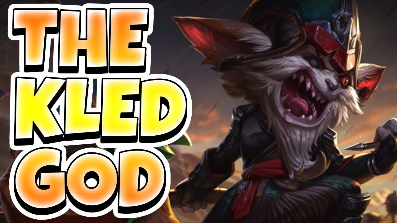 The Kled God Challenger Tryndamere Onetrick Plays Kled And