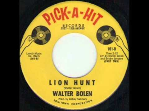 Walter Bolen Lion Hunt