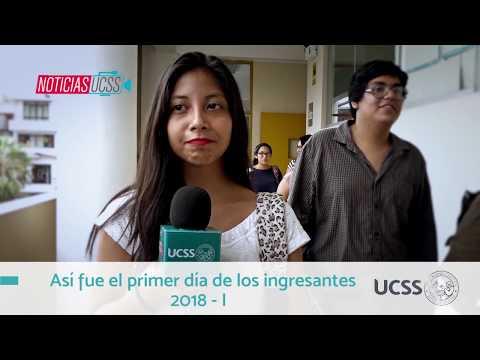 UCSS TV: Noticias UCSS (Inicio del semestre 2018 - I)