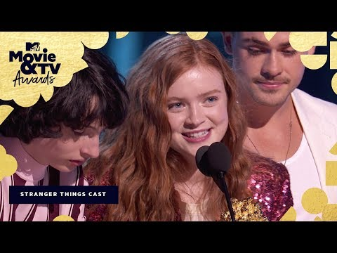 The 'Stranger Things 2' Cast Accepts the Award for Best Show | 2018 MTV Movie & TV Awards thumbnail