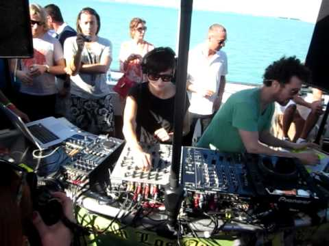 Magda @ the Positronic Yacht Party in Miami, March 26th 2011