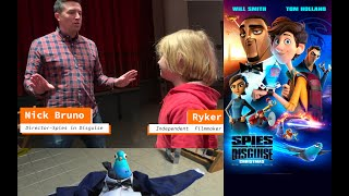 Ryker and Spies in Disguise Director Nick Bruno