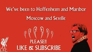 We've been to Hoffenheim and Maribor.... With LYRICS