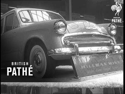 French Auto Show (1956)