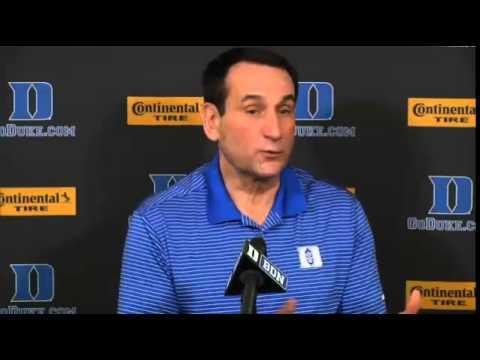 Coach K Referencing Coach Johnson and Greensboro Day School