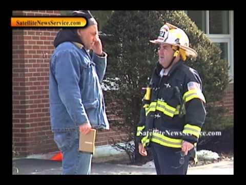 Haz Mat Crews at School- Odor prompts evacuation- Centerville, MA school (02-09-11)
