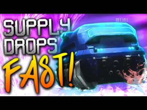 """FAST SUPPLY DROPS in Black Ops 3! (How to Unlock """"Cryptokeys"""")"""
