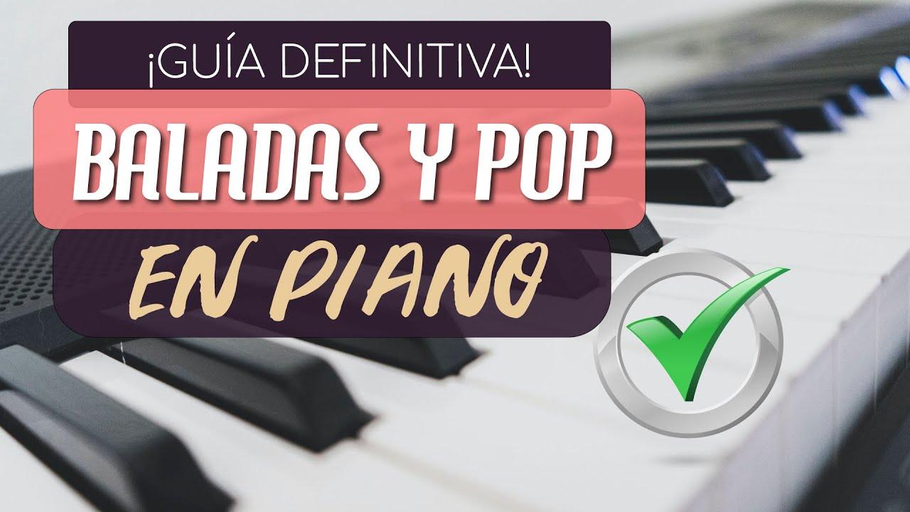 Cómo Tocar Baladas Para Acompañar Como Un Experto En Piano Mini Clase De Piano 9 Youtube