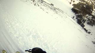 Cold Spring chute skiing at Moonlight Basin Thumbnail