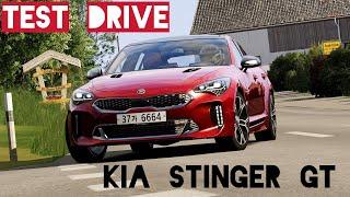 2018 Kia Stinger GT - Virtual TEST DRIVE | Assetto Corsa VR Gameplay