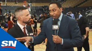 Stephen A. Smith: I'm Not Betting My Money On Raptors Over Warriors