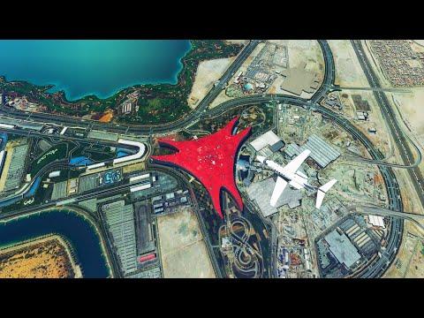 Ferrari World Abu Dhabi!   Microsoft Flight Simulator 2020