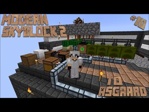 Minecraft Modern Skyblock 2 Lp Ep #10: Automating Charcoal and Plant Matter