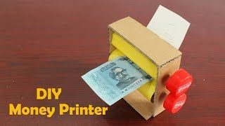 How to Make a Money Printer Machine at Home Easy Way - DIY Money printer Machine Magic trick