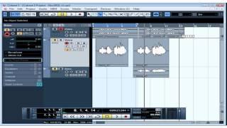 Cubase 5 Tutorial - Lesson 19: Basic Editing Part II