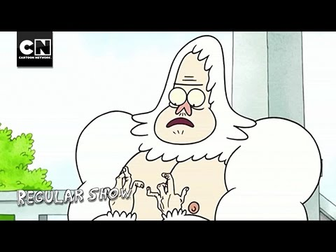 Breaking Skips' Fists I Regular Show I Cartoon Network