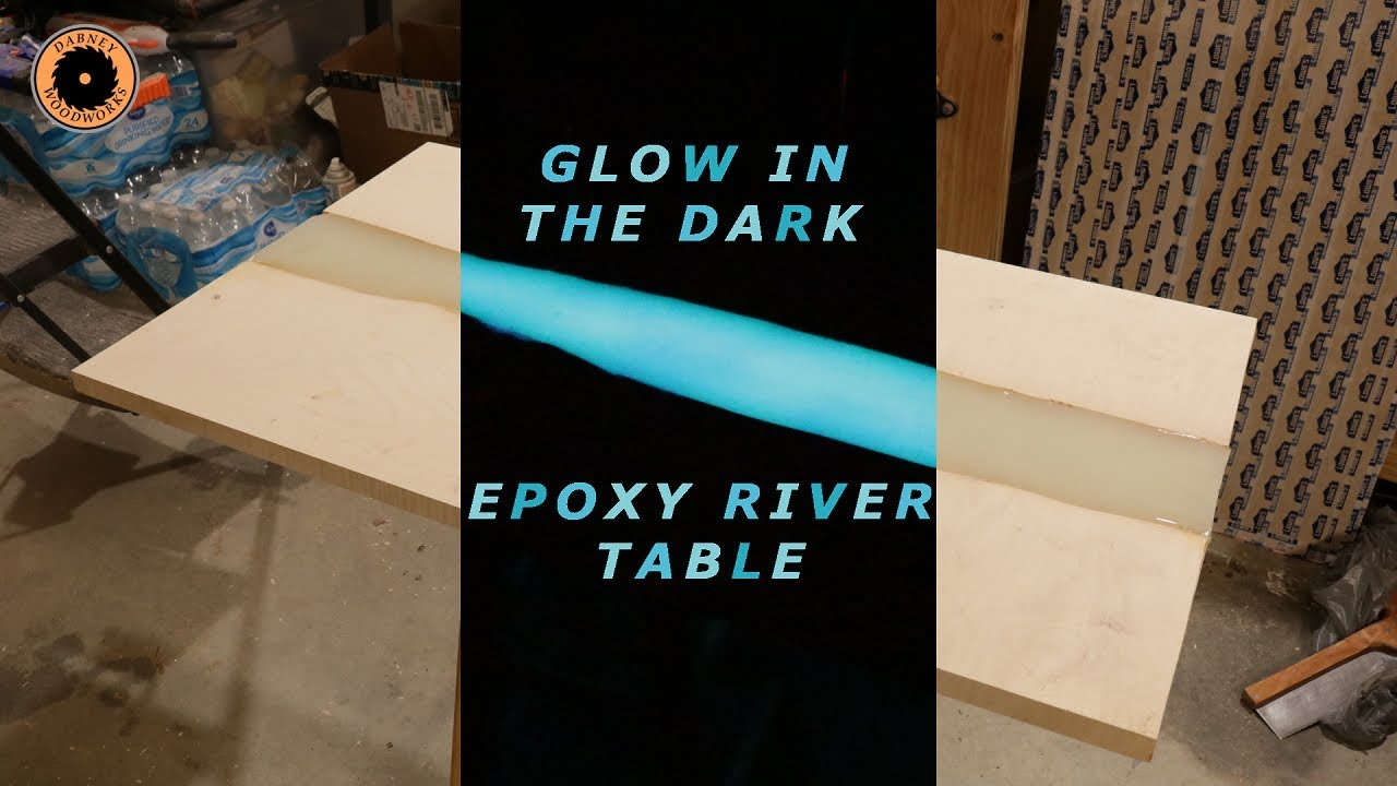 Epoxy River Coffee Table Pt  1 - The Top