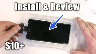 Galaxy S10+ Whitestone Dome Glass Install, Review & Removal