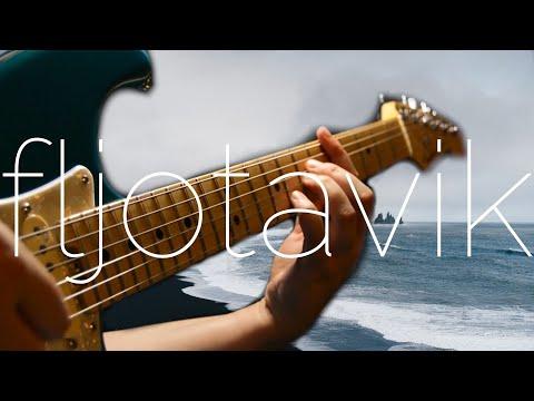 Sigur Ros | Fljotavik | Fingerstyle Electric Guitar | Fender Stratocaster