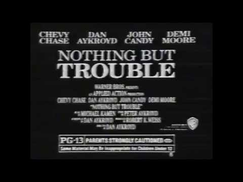 1991 Nothing but Trouble Tv Spot
