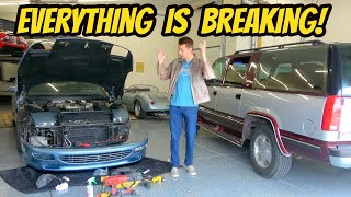 My Life is a Train Wreck (Except with Broken Cars) HOOPTIE FLEET UPDATE!