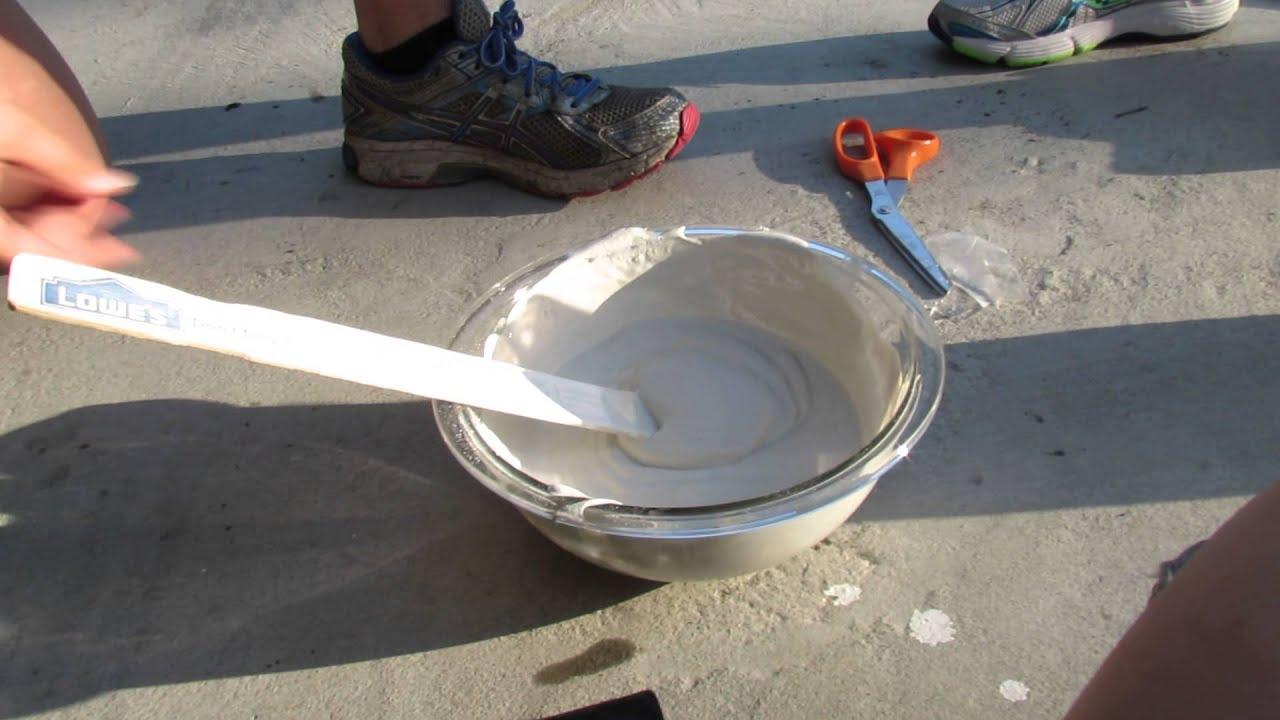 Tire Plaster Castings : Graduation project forensic science csi tire cast pt