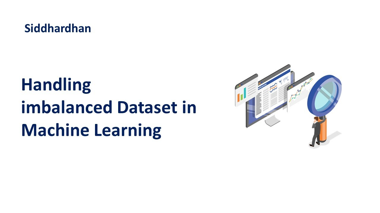 How to Handle imbalanced Dataset | Data Pre-Processing | Machine Learning Course