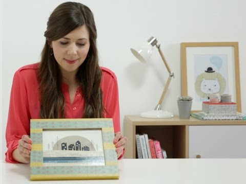 Simple Solutions: Create a pretty picture frame with washi tape