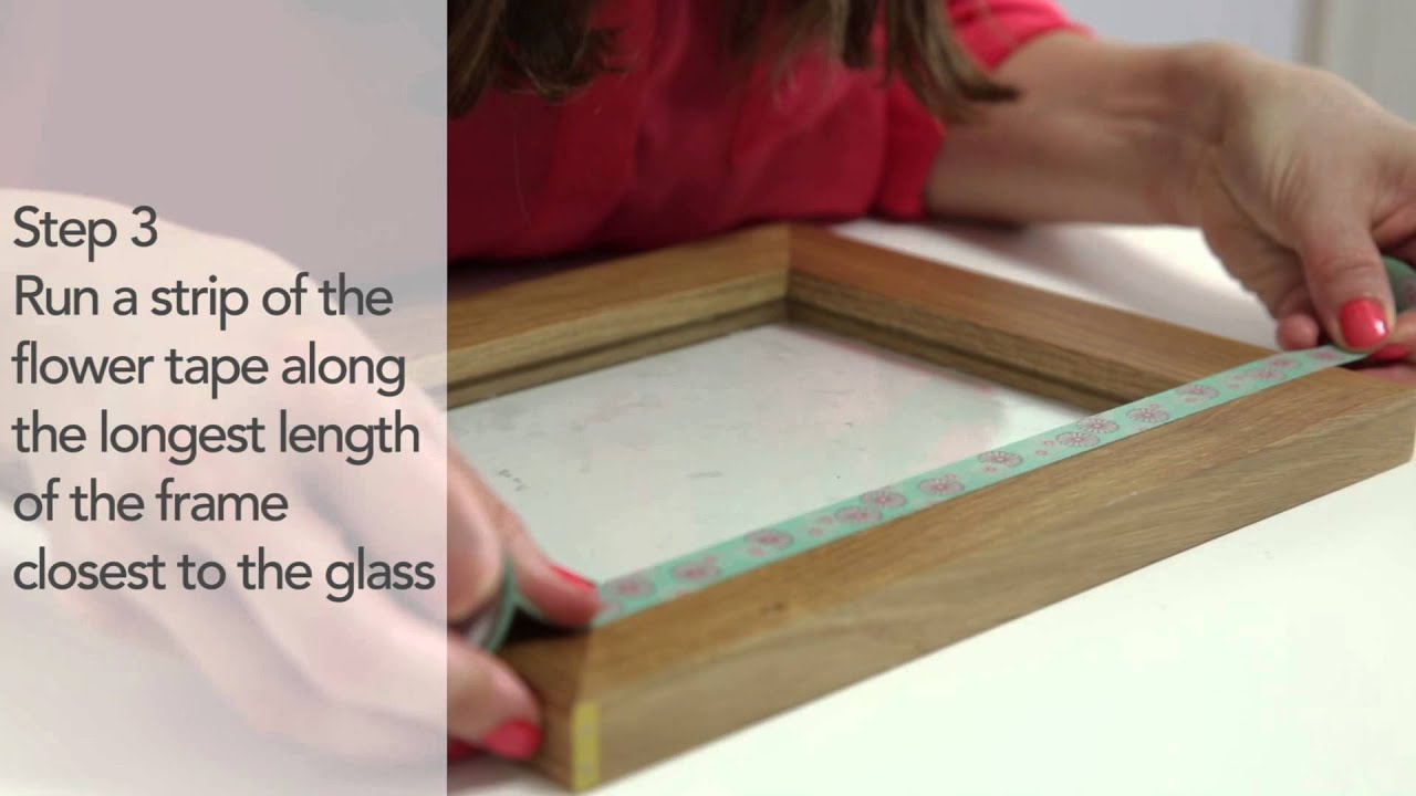 Simple Solutions: Create a pretty picture frame with washi tape ...
