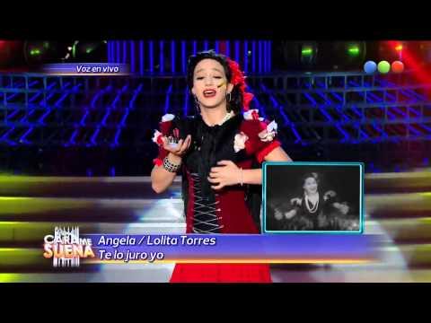 Ángela Torres es Lolita Torres Te lo juro yo HD