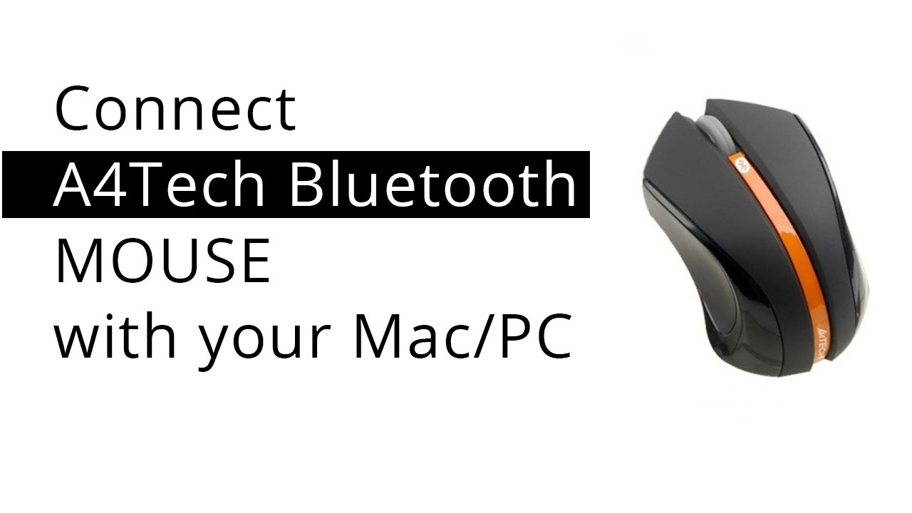 cannot pair bluetooth mouse mac