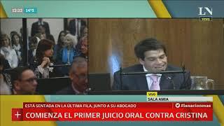 La primera audiencia del juicio oral a Cristina Fernández de Kirchner [Parte 1]