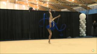 Vivienne Lee Motkine Ribbon Senior FIG 2016 Rhythmic Gymnastics Elite Canada Championships