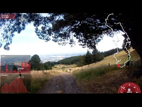Access to the Christchurch Adventure Park via Dyers Pass - Summit Rd - Worsleys Tr - Pretty Easy