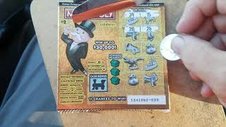 Awesome Rare 4 Wins in 6 $2 Dollar Monopoly Games