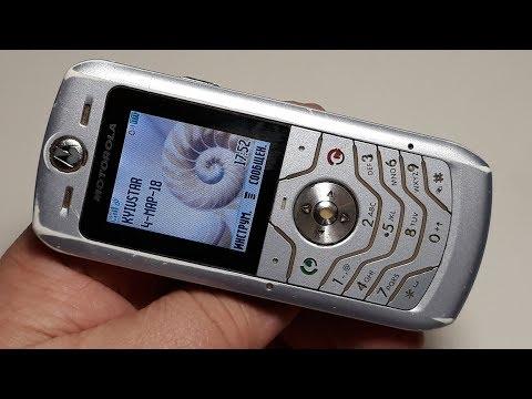 Motorola L6. Металлический ретро телефон из прошлого. Первое включение легенды.