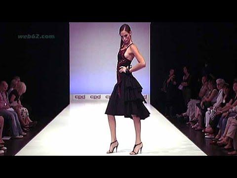 Isabel de Pedro Spanish designer fashion show @ web62.com Internet TV