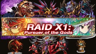 Brave Frontier: Raid X1 - Missions 5 & 6!! (GLOBAL EXCLUSIVE!)