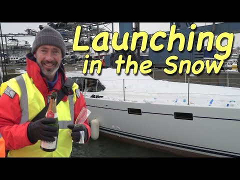Launching in the Snow