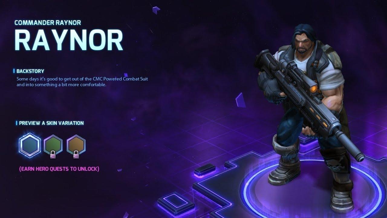 Commander Raynor Skin