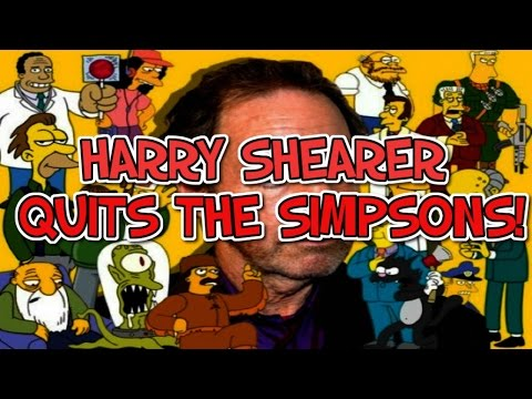 Harry Shearer LEAVES The Simpsons! What is the future of the Simpsons?