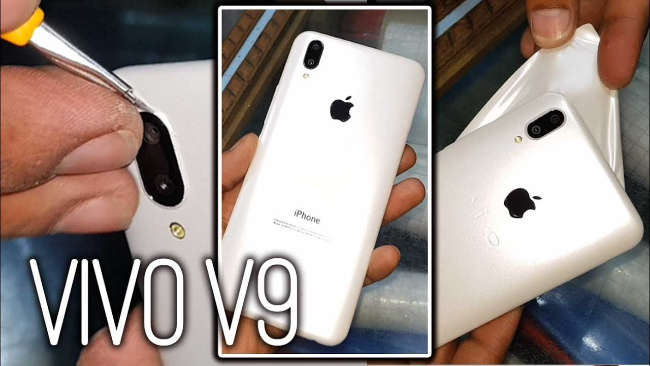 low priced 2bf4e ceeb5 VIVO V9 Plus Convert iPhone X with apple Lamination full review 2018 vivo  X21