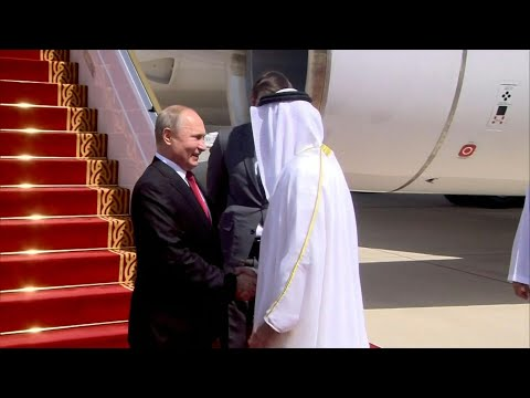 Russian President Vladimir Putin arrives in Abu Dhabi | AFP