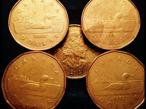 1987-2012 Canadian Dollar Coins